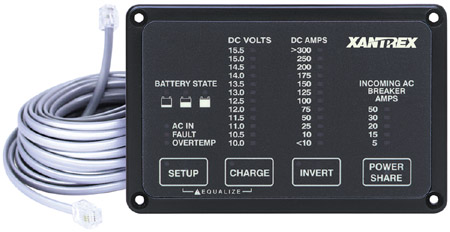 Converter/Inverter and Charger Remotes