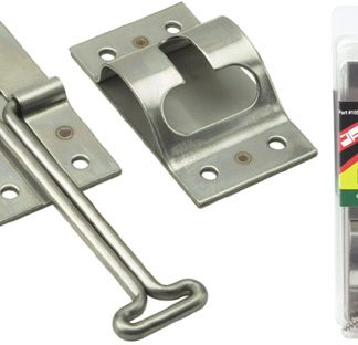 "4"" Stainless Steel T-Style RVDoor Holder"