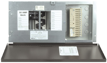 50 Amp RV Fuse Panel with Door