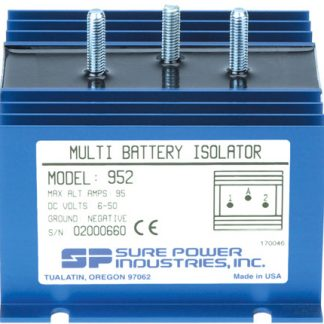 95 Amp, 1 Input, 2 Battery Isolator