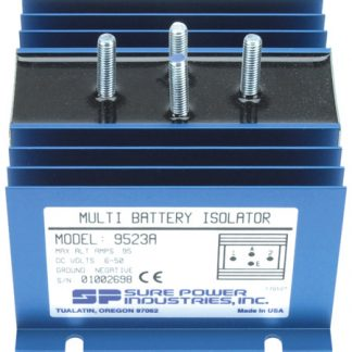 95 Amp, 1 Input, 2 Battery Isolator - DELCO SERIES