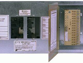 AC/DC 50 AMP FUSE PANEL W/O Door