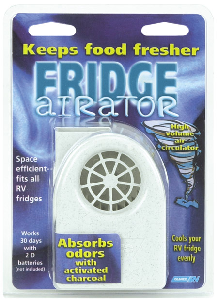 Battery Operated RV Fridge Airator