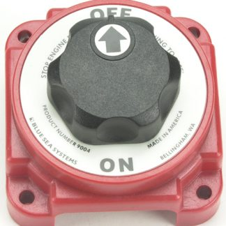 Battery Switch ON / OFF with Knob and AFD