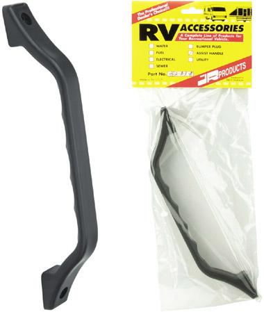Black Entry RV Door Grab Handle