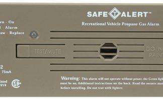 Brown Flush Mount Classic LP Gas/Propane Alarm  #30-442-P-BR