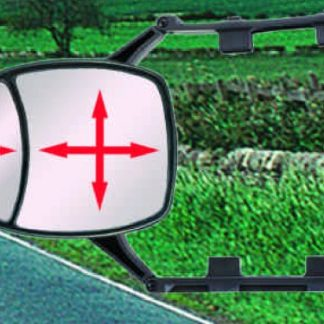 DUAL VIEW CLIP ON TOWING MIRROR
