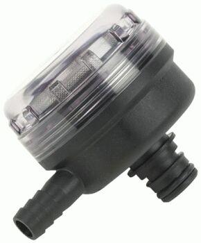 FLOJET INLET STRAINER 1/2 INCH Quad Port 90° elbow Outlet