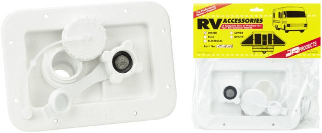 Polar White City / Gravity RV Water Dish - No Door