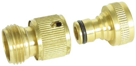 Quick Brass RV Hose Connector