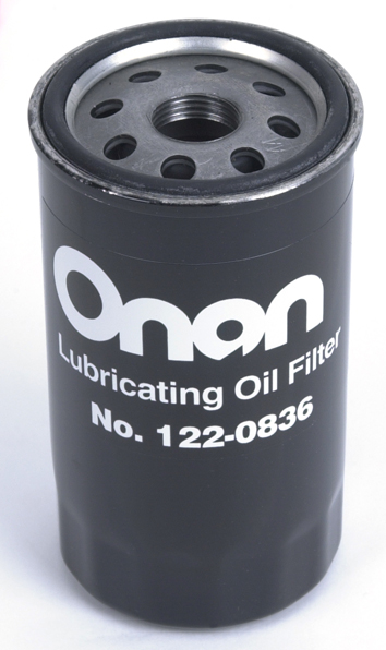 Replacement Onan Generator oil filter Marquis Gold 122-0836