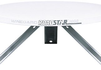 Roadstar RV Antenna with Power Supply