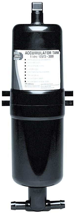RV Water System Accumulator Tank