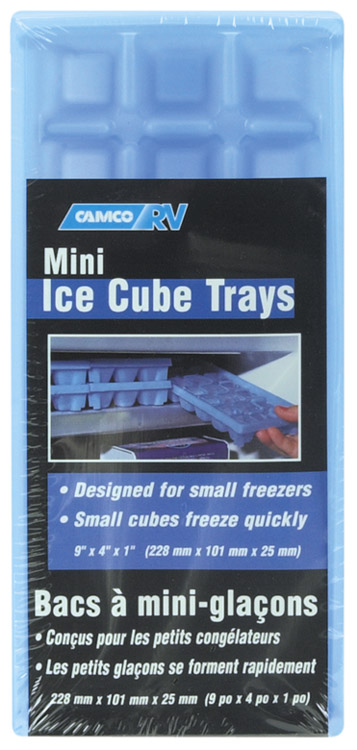 Set of 2 Mini RV or Dorm Room Ice Cube Trays
