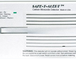 Surface Mount Carbon Monoxide Alarm