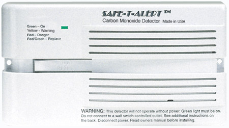 Surface Mount Carbon Monoxide Alarm