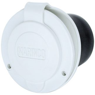 White 20A RV Power Inlet