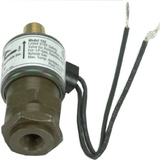 "12 Volt .100"" Orifice Inline Filter Shut Off Valve"
