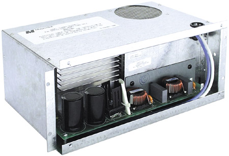 electronic ac to dc converter section with 45 amp maximum output and 45 amp  charging system
