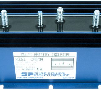 120 Amp, 1 Input, 2 Battery Isolator - DELCO SERIES