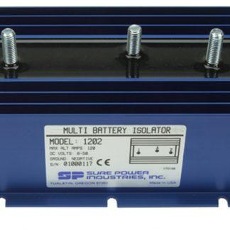 120 Amp, 1 Input, 2 Battery Sure Power Isolator