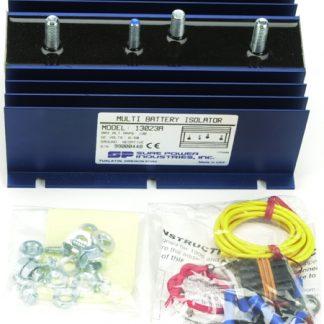 130 Amp, 1 Input, 2 Battery Isolator - DELCO SERIES