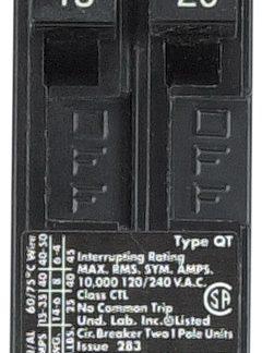 15 / 20 Amp Duplex Breaker