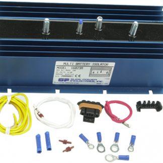 160 Amp, 1 Input, 2 Battery Isolator - DELCO SERIES