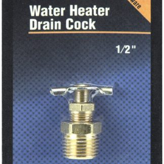 "1/2"" RV Water Heater Drain Valve"