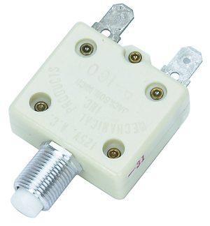 30 amp manual push button breaker
