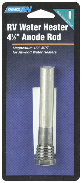 "4 1/2"" RV Water Heater Atwood Anode Rod"